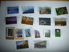 NATIONAL PARKS - NEW COMMEMORATIVE STAMPS - LOT OF 100