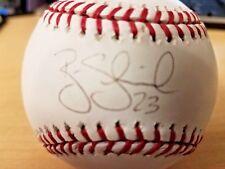 Brian Schneider #23 Washington Nationals Autographed Baseball