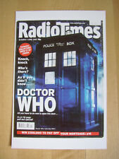 NEW Radio Times postcard Vtg cover March-April 2005 Doctor Dr Who Tardis BBC TV