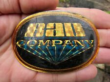 Vtg BAD COMPANY Belt Buckle ROCK BAND Pacifica 1978 Album ART Music RARE VG+