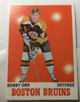 1970-71 TOPPS #3 BOBBY ORR BOSTON BRUINS *NM* (NEAR MINT) *MT* (MINT) CONDITION!