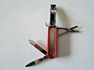 (LIKE) Personal Swiss Army, Nail Clipper,Knife, Scissors,Nail File, Screwdriver