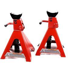 Cavalletti/Jack stand professionali 2 pz per auto/autoveicoli/autocarri 6T/6000k
