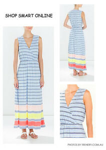 BNWT Trenery by Country Road maxi casual jersey dress size XXL 16 - 18 RRP 149