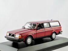 Volvo 240 GL Break  1984-1993  dunkelrot metallic   / Minichamps  1:43