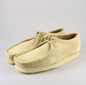 Clark's Originals Maple Suede Wallabee Ankle Boots Sneakers Womens 8 US, 5.5 UK