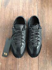 $330 NIB Y-3 Yohji Yamamoto Rhita Sport Sneakers in Black Size US 7