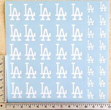 41 Los Angeles Dodgers Decal Stickers Baseball Helmet, Hard Hats, IPhone, Laptop