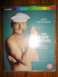 THE LAST DETAIL 1973 NEW Blu-Ray Booklet INDICATOR Jack Nicholson SHIPS IN A BOX