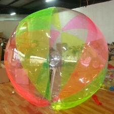 HI New 2M Water Walking Roll Ball Inflatable Zorb Zipper Zorbing Balldancing