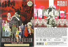 Mirai Nikki The Future Diary DVD Complete 1-26 +OVA Anime DVD (ENGLISH DUB)