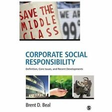 Corporate Social Responsibility : Definition, Core Issues, and Recent...
