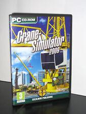 CRANE SIMULATOR 2009 GIOCO USATO OTTIMO STATO PC ED ING GIOCO INGLESE 21488