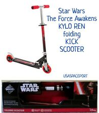 HUFFY Star Wars KYLO REN KICK SCOOTER Kids Inline Ride-On Toy Folding Boys/Girls