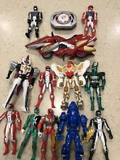 POWER RANGERS LOT 13 PC, VINTAGE, Variety, Bandai, Hidden TREASURES, Great Price