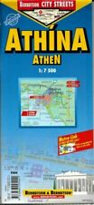 Map of Athens Greece Laminated & Folded by Berndston Maps