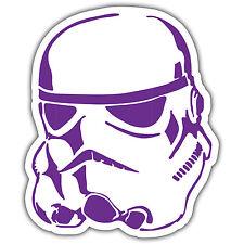 stormtrooper purple car sticker jdm dub euro 80x100mm