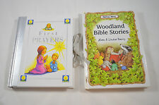 Children's Religious Books First Prayers Woodland Bible Stories Easter Gifts
