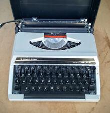 Silver Reed SR-100 Tabulator Typewriter in Case.