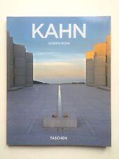 KAHN MODERNIST ARCHITECTURE TASCHEN SOFTCOVER DESIGN BOOK
