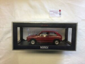 VW Golf 1 I GTI 1976 Rot Red Norev 1:18