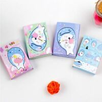 Gift Kawaii N Times Sticky Folding Whale Series Bookmark Memo Pad Notepad