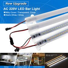 30/40cm LED Rigide Projecteur Bande Tubes Fluorescentes Barre 220V DIY Vitrine