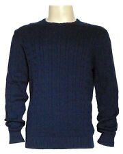 Selected Herren Men Pullover Shirt Sweatshirt Pulli Sweater Gr.XL Dunkelblau