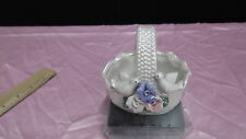 Porcelain Basket With Little Doves