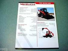 Takeuchi TS70V Skid Steer Loader Brochure