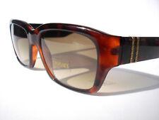 Vintage Versace sunglasses 723/1 Brown  COL 649 Authentic w/case