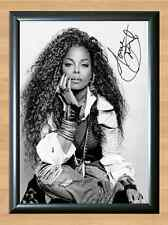 Janet Jackson Velvet Rope Signed Autographed A4 Print Poster Photo ticket cd dvd