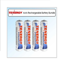 TENERGY AAA RECHARGEABLE BATTERIES Ni-HM 1000mah- 4 PIECES