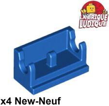 Lot x4 Lego 3937 Brique Charnière ROUGE RED Brick Hinge 1x2-393721
