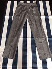 🔥Men Hart Schaffner Marx Charcoal Dress Pants Gray 100% Wool 34 Regular NWT🔥🔥