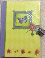 SALE MARTIN DESIGNS HARD COVER DIARY, LINED SHEETS, LOCK & KEY,YOUR EYES ONLY,BN