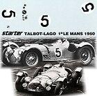 Talbot-Lago T26 GS Le Mans 1950 #5 Jean-Louis & Louis Rosier 1:43 Decal