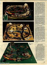 1984 ADVERT Toy GI Joe Train and Battle Set Cobra Command HO Scale Z-28 Race Set