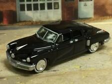 "Preston Tucker 1948 ""Tucker 48"" Torpedo Sedan Black 1/64 Scale Limited Edit B11"
