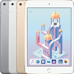 """Apple iPad Mini 4 (4th Gen) 7.9"""" 16/32/64/128GB Wi-Fi/4G Cellular Unlocked"""