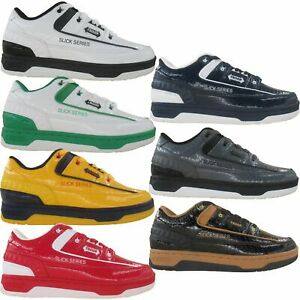 Troop Men's Slick Series Patent Leather Retro Fashion Casual Shoes