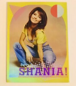 "SHANIA TWAIN 3X4"" HOLO-DECAL/STICKER *NICE!* Custom Vintage/Retro 90's Design!"