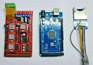 Mega 2560 R3 + RAMPS 1.4 + 4X A4988  Arduino RepRap +TF SD Card reader Ramps