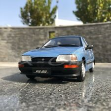 Car Model Yiqi Chinese Tianjin Xiali TJ7100 Hatchback 1:18 (Blue) + SMALL GIFT!