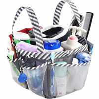 SANNO Mesh Shower Caddy Tote,College Bathroom Dorm Large Caddy Organizer with Ke