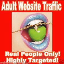 1,000 Real Visitors! ADULT TARGETED website traffic! 100% Adsense Safe!