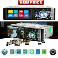 "4,1 ""HD Single 1DIN Autoradio Video MP5 Bluetooth FM Radio SD TF AUX-USB I1W9"