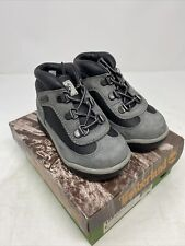 Vintage Timberland Field Boot Gray 15813 Toddler Baby Leather Sz 6 NOS NEW