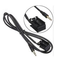NEW 1.2M Car 3.5mm AUX in Cable For Ford Fiesta Mondeo MK3 Focus MK2 S-MAX PUMA
