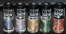 5 Pcs. Maybelline Nail lacquer Polish Color Show